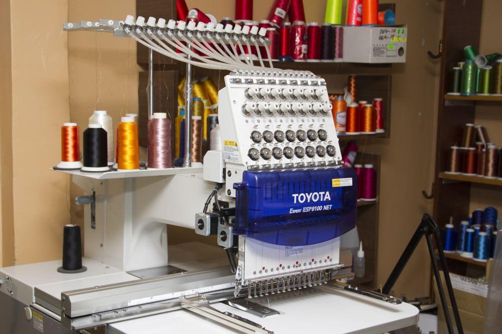 Вышивальная машина с созданием своей вышивки 928